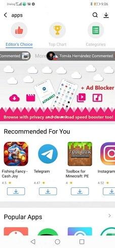 ac market popular apps