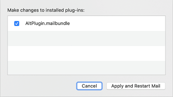 altplugin mail bundle enable