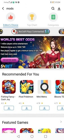 mod apps on ac market